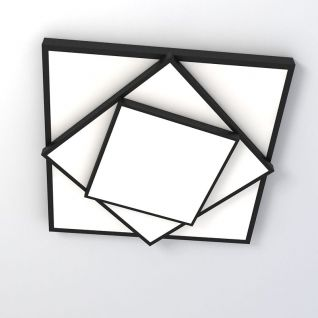时尚创意艺术吸顶灯3d模型