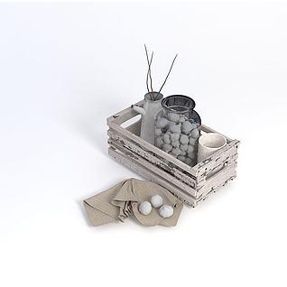 复古装饰品3d模型