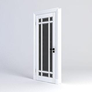 浴室门3d模型