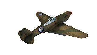 国民党战机P40模型3d模型