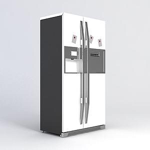 双开门冰箱模型