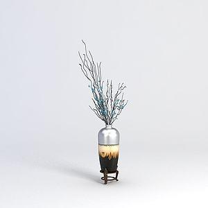 3d中式<font class='myIsRed'>花瓶</font>模型