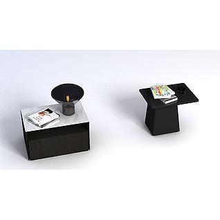 小茶几3d模型