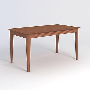 黑珍珠桌子3d模型3d模型