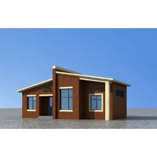 景区公共公厕3d模型