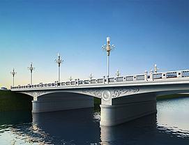 大桥3d模型
