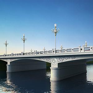 3d大桥模型