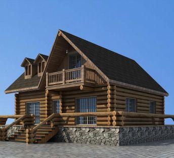 景区度假小木屋