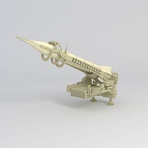 導彈模型3d模型