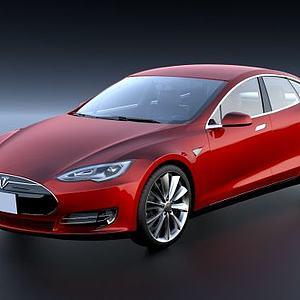 特斯拉汽车ModelS模型