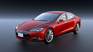 特斯拉汽车ModelS模型3d模型