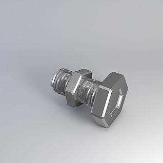 螺丝钉3d模型
