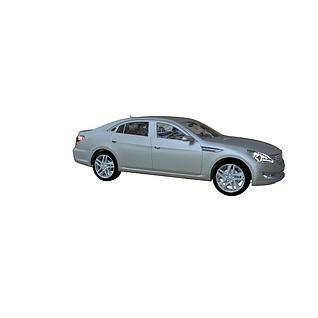 汽车结构全模3d模型