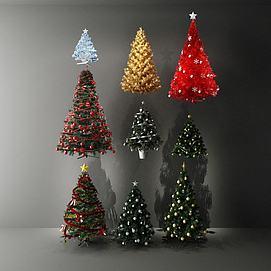 3d<font class='myIsRed'>圣诞树</font>模型