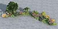 植物组3d模型