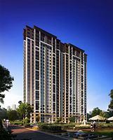 孔雀城 住宅全模型3d模型