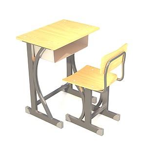 课桌3d模型