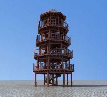 观景台眺望塔
