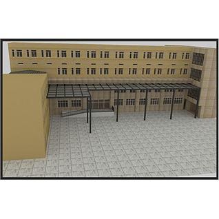 钢价阳光房3d模型