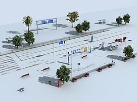 道路常模型