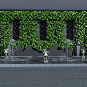 噴泉小品模型3d模型