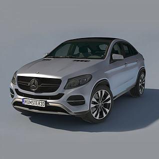 MercedesBenzGLE3d模型