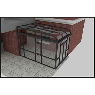 阳光房3d模型