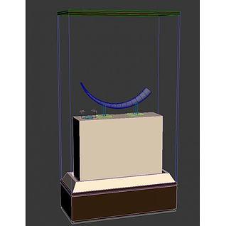 展柜模型3d模型