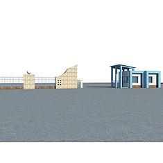 门卫3D模型3d模型