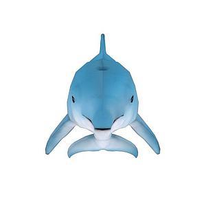 卡通海豚带骨骼动画模型