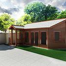 木屋茶室模型