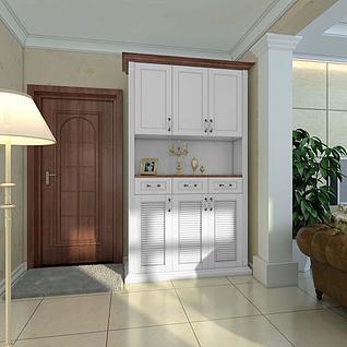 玄关柜3d模型
