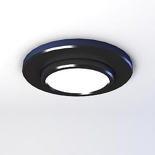 筒灯模型3d模型