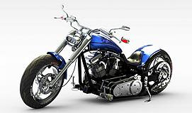 3d摩托模型