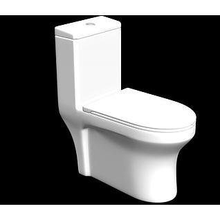 马桶3d模型