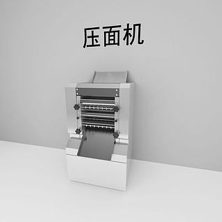 压面机3d模型