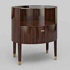 床头柜模型3d模型