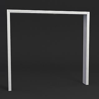 通用门框3d模型3d模型
