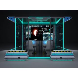卫星测控站3d模型