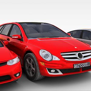 车3D模型
