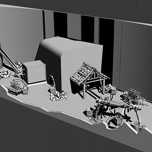 冶炼场景模型