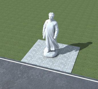 毛主席雕塑
