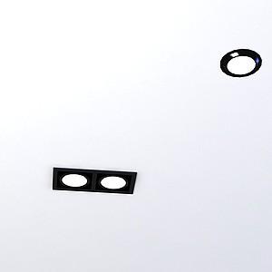 3d射燈模型