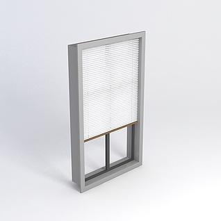 百叶窗模型3d模型