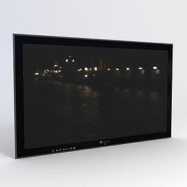 3d電視模型