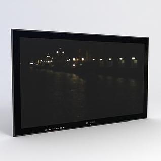 电视3d模型