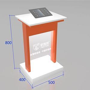 3dipad展示立柜模型