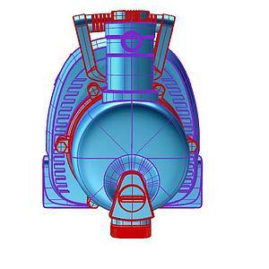 抽水机模型