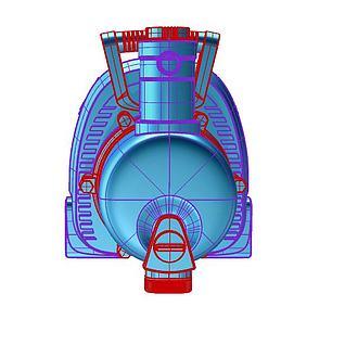 抽水机3d模型3d模型