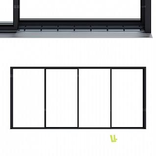 窗框模型3d模型